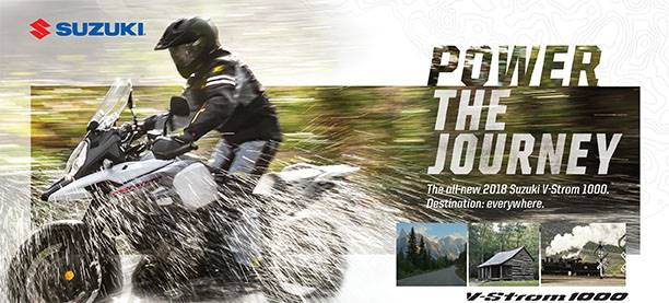 Suzuki Motor of America Inc. Suzuki - Summer Suzuki Fest for Dualsport and Adventure