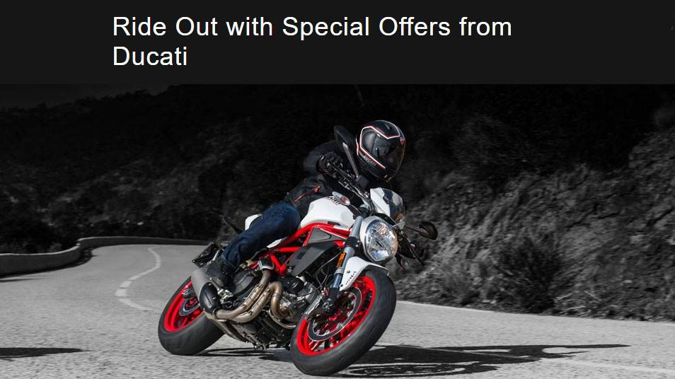 Ducati Walk In, Sign Up, and Ride Out