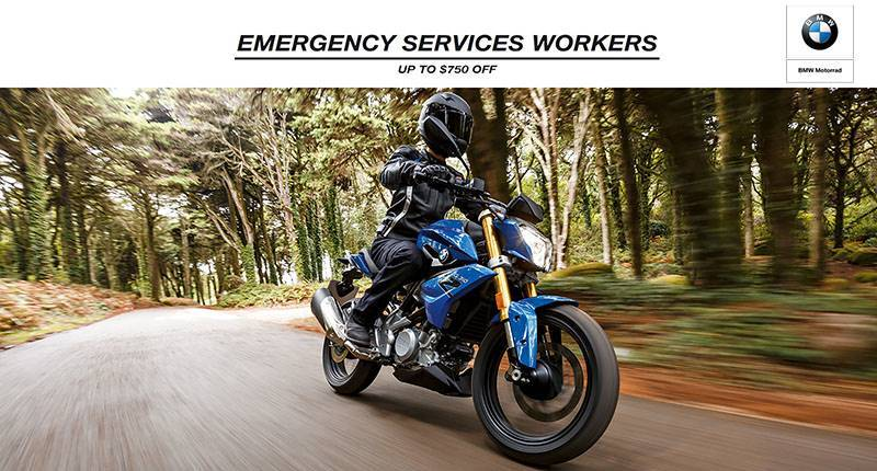 BMW - Emergency Services Workers Purchase Offer