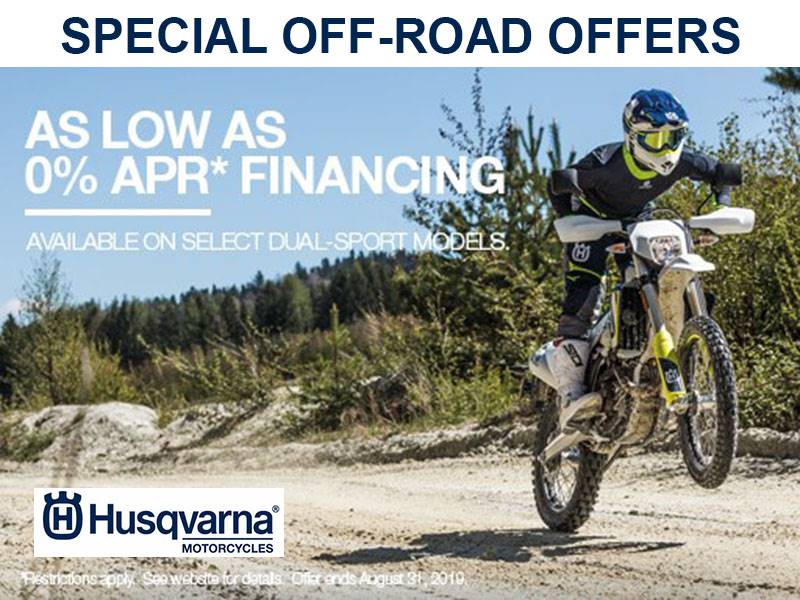 Husqvarna - Special Off-Road Offers