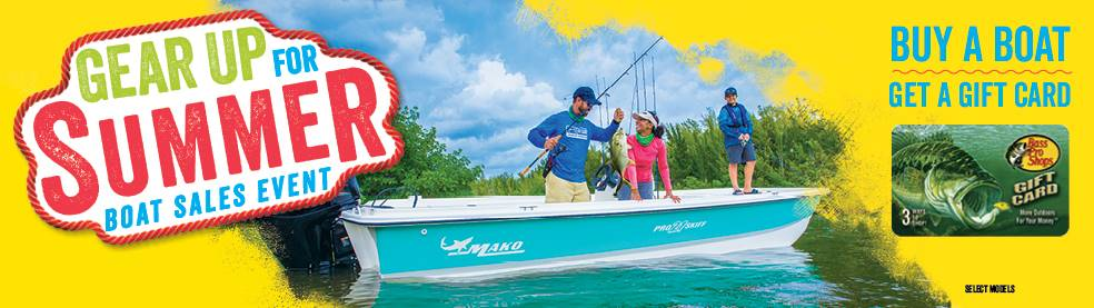 Mako Gear up for Summer Boat Sales Event