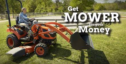 Kioti Mower For Your Money