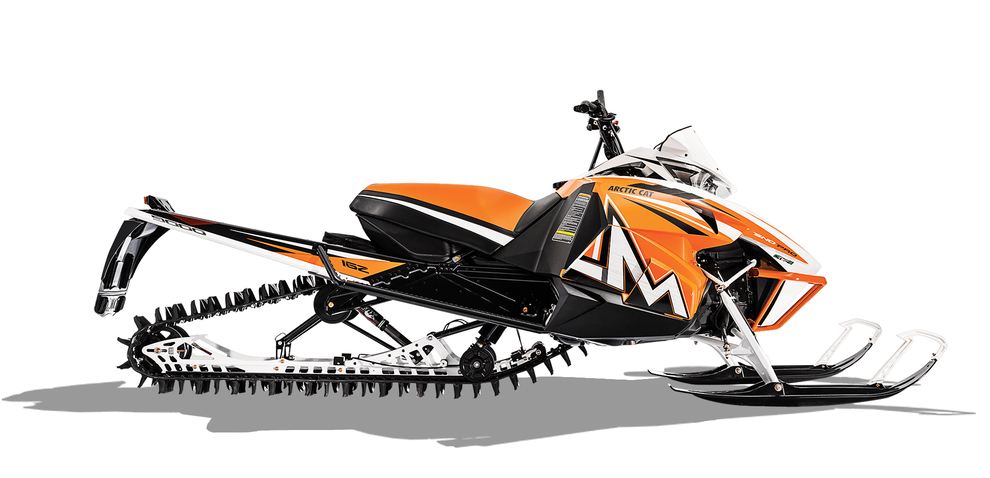"2016 Arctic Cat M 9000 162"" Sno Pro in Trego, Wisconsin"