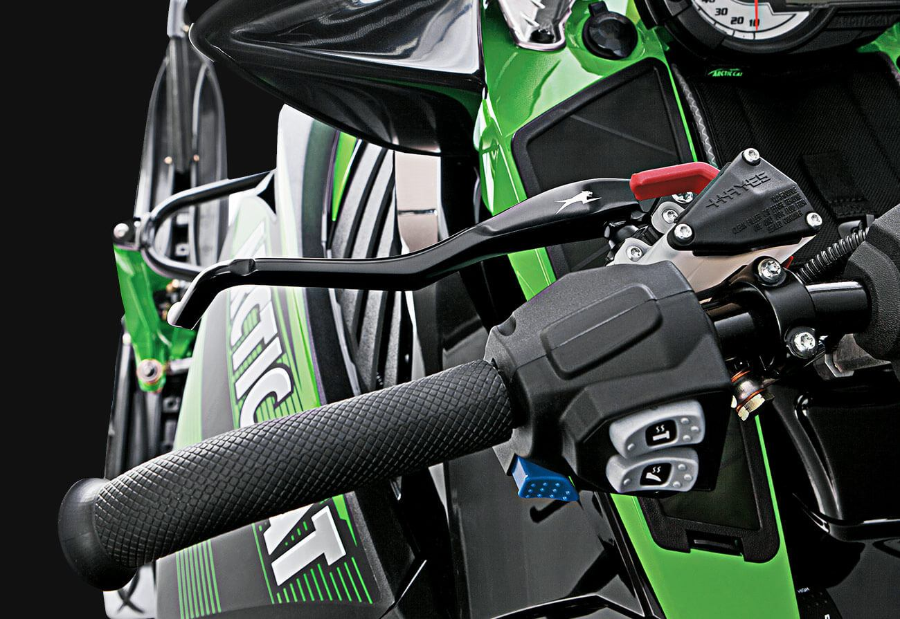 "2016 Arctic Cat ZR 7000 129"" Limited ES in Trego, Wisconsin"