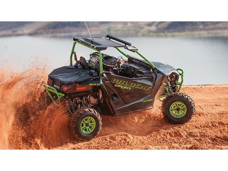2016 Arctic Cat Wildcat Sport Limited in Hillsborough, New Hampshire