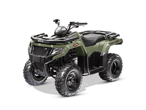 2017 Arctic Cat Alterra 300 in Baldwin, Michigan