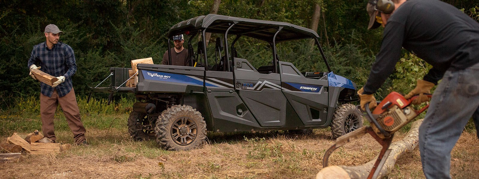 2017 Bad Boy Off Road Stampede XTR EPS Plus in Trevose, Pennsylvania