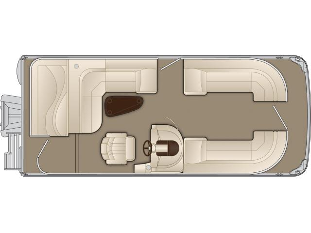 2016 Bennington 2075 GL in Round Lake, Illinois
