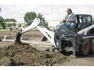 2016 Bobcat 406 Backhoe in Fort Wayne, Indiana