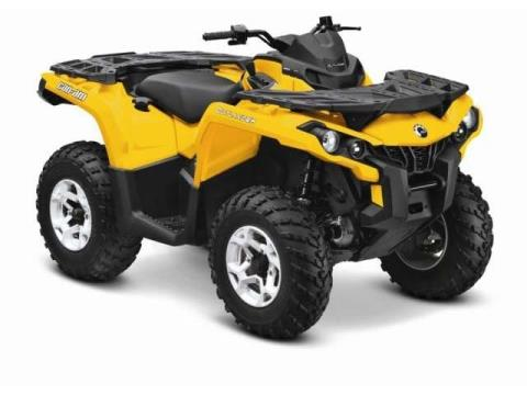 2014 Can-Am Outlander™ DPS™ 500 in Land O Lakes, Wisconsin