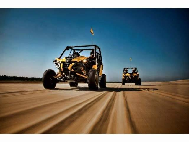 2015 Can-Am Maverick™ X® rs DPS™ 1000R in Irvine, California