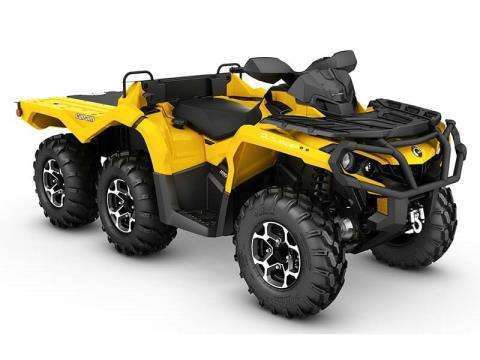 2016 Can-Am Outlander 6X6 XT 1000 in Tyrone, Pennsylvania