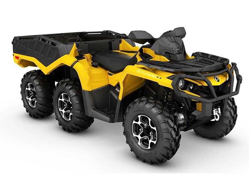 2016 Can-Am Outlander 6X6 XT 650 in Goldsboro, North Carolina