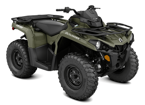2016 Can-Am Outlander L 570 in Salt Lake City, Utah
