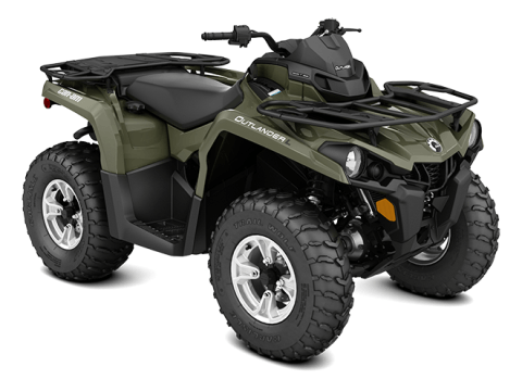 2016 Can-Am Outlander L DPS 450 in Canton, Ohio