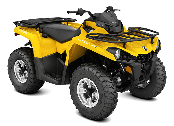 2016 Can-Am Outlander L DPS 450 in Salt Lake City, Utah