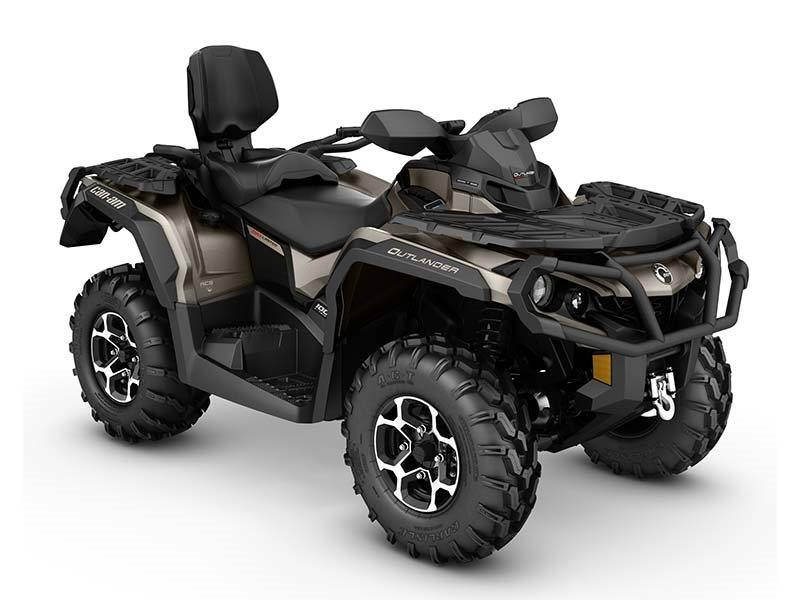 2016 Can-Am Outlander MAX Limited in Poteau, Oklahoma
