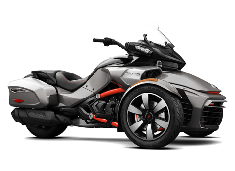 2016 Can-Am Spyder F3-T SE6 w/ Audio System in Omaha, Nebraska