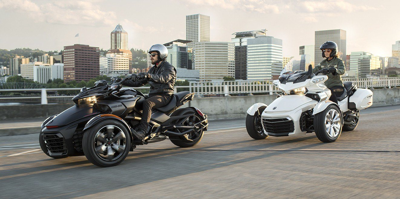 2016 Can-Am Spyder F3-T SM6 w/ Audio System in Goldsboro, North Carolina
