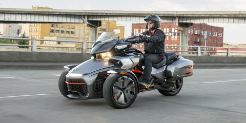 2016 Can-Am Spyder F3 SE6 in Roscoe, Illinois