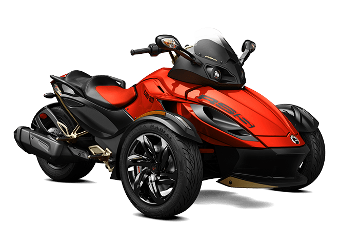 2016 Can-Am Spyder RS-S SM5 in Roscoe, Illinois