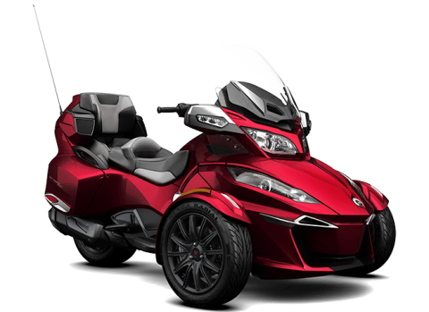 2016 Can-Am Spyder RT-S SE6 in Gaylord, Michigan