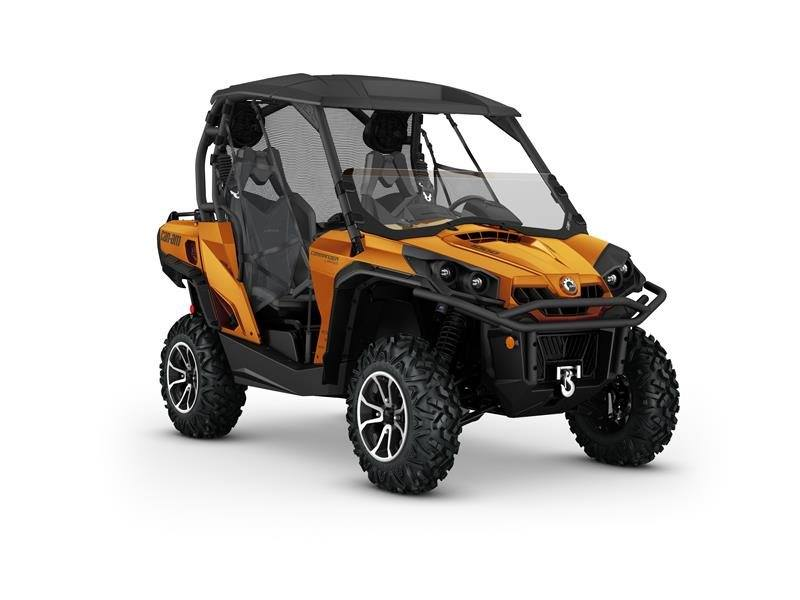 2016 Can-Am Commander Limited 1000 in Roscoe, Illinois