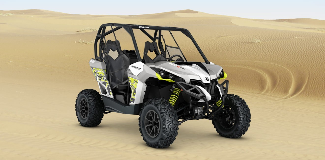 2016 Can-Am Maverick Turbo 1000R in Poteau, Oklahoma