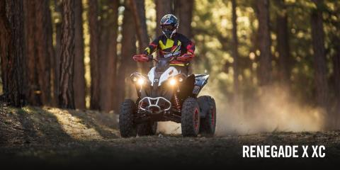 2017 Can-Am Renegade X xc 850 in Middletown, New Jersey