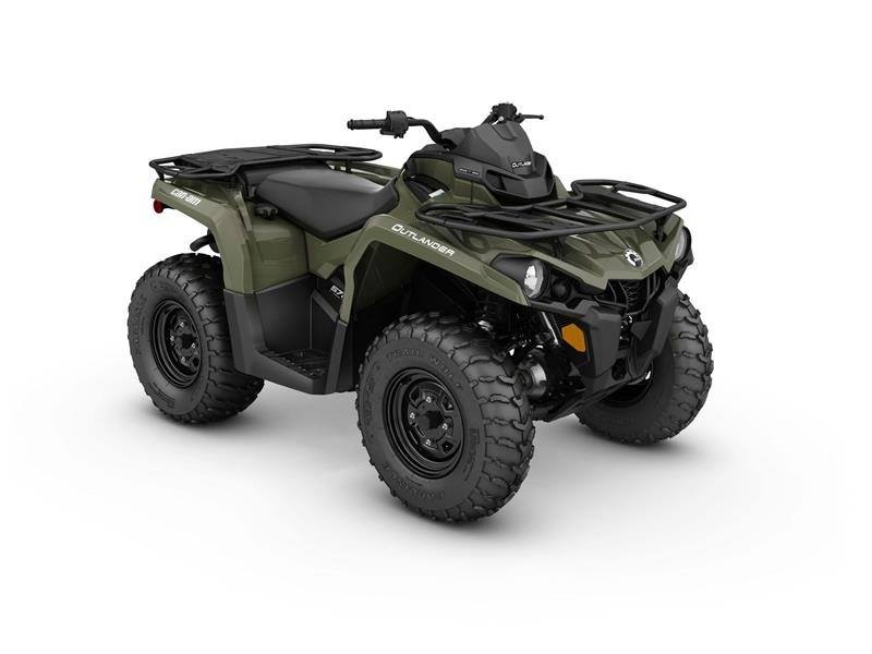 2017 Can-Am Outlander 570 in Poteau, Oklahoma