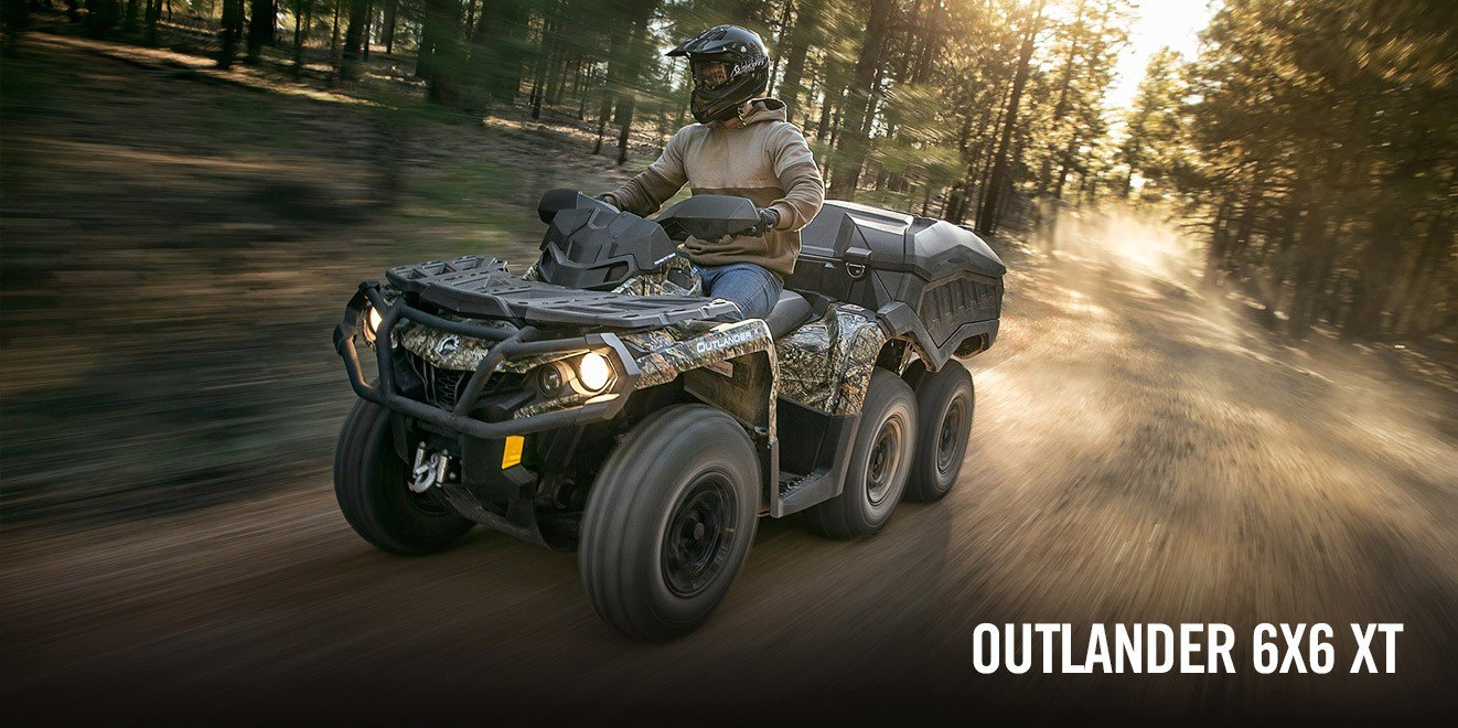 2017 Can-Am Outlander 6x6 XT 1000 in Middletown, New Jersey