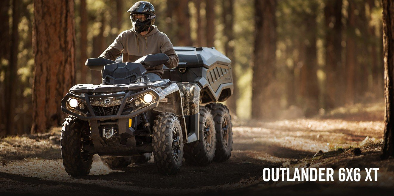 2017 Can-Am Outlander 6x6 XT 1000 in Leesville, Louisiana
