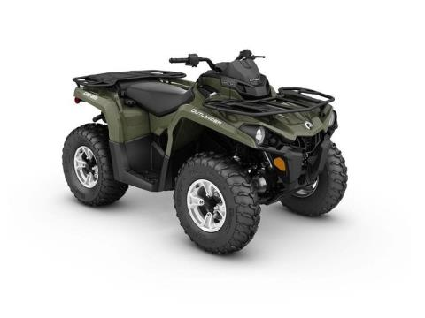 2017 Can-Am Outlander DPS 450 in Wilmington, North Carolina