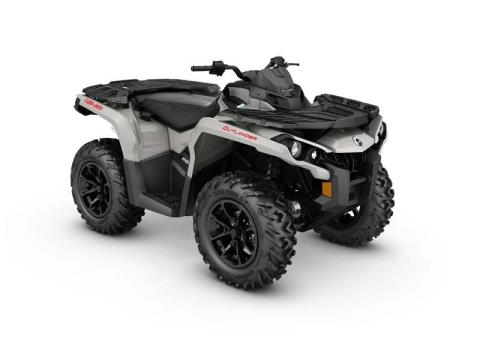 2017 Can-Am Outlander DPS 650 in Detroit Lakes, Minnesota