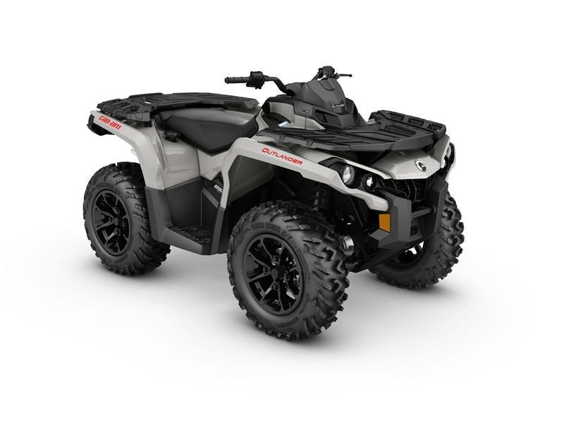 2017 Can-Am Outlander DPS 850 in Wilmington, North Carolina