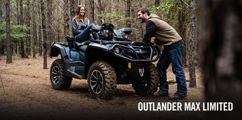 2017 Can-Am Outlander MAX Limited 1000 in Middletown, New Jersey