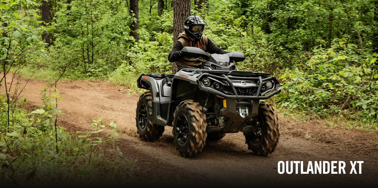 2017 Can-Am Outlander XT 570 in Lancaster, New Hampshire