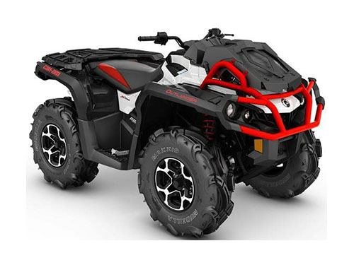 new 2017 can am outlander x mr 850 atvs in wisconsin. Black Bedroom Furniture Sets. Home Design Ideas