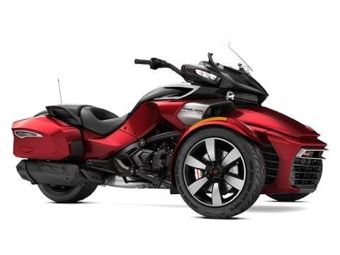 2017 Can-Am Spyder F3-T SE6 in Findlay, Ohio