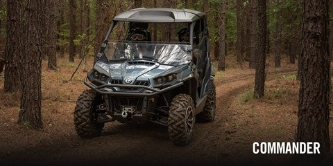 2017 Can-Am Commander 1000 Mossy Oak Hunting Edition in Poteau, Oklahoma