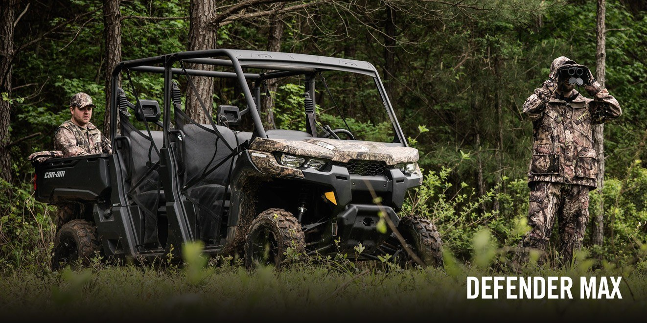 2017 Can-Am Defender MAX DPS HD10 in Leesville, Louisiana