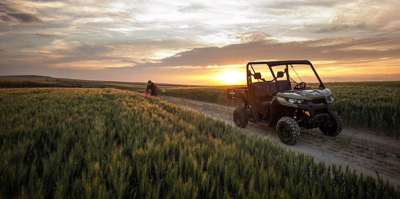 2017 Can-Am Defender XT CAB HD8 in Brighton, Michigan