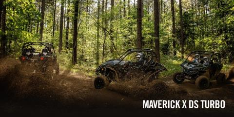 2017 Can-Am Maverick MAX X ds Turbo in Lancaster, New Hampshire