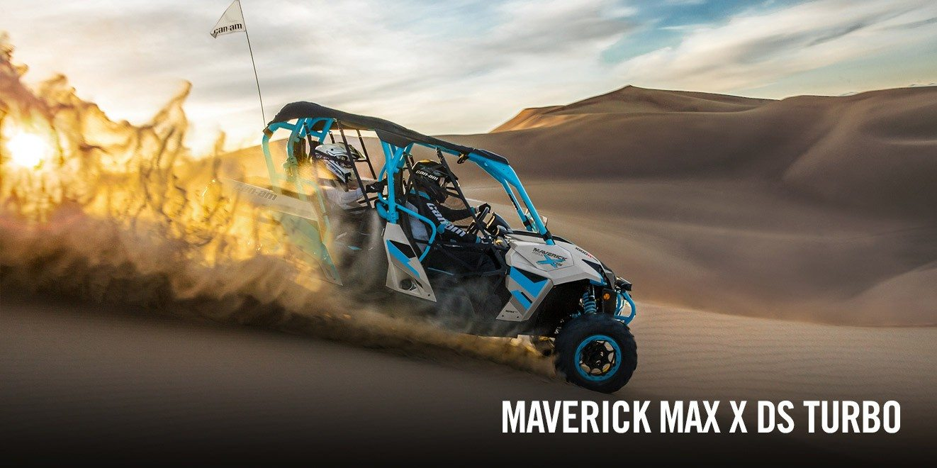 2017 Can-Am Maverick MAX X ds Turbo in Las Vegas, Nevada