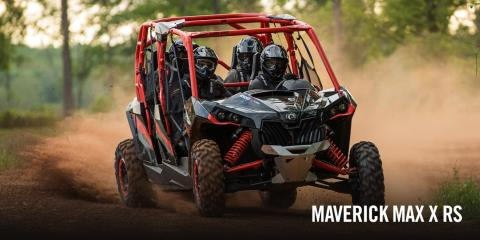 2017 Can-Am Maverick MAX X rs Turbo in Tyrone, Pennsylvania
