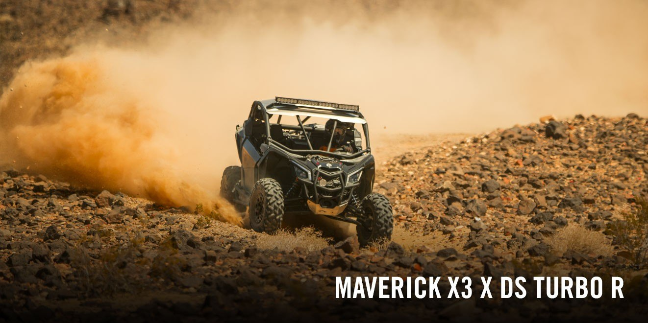 2017 Can-Am Maverick X3 X ds Turbo R in Bozeman, Montana