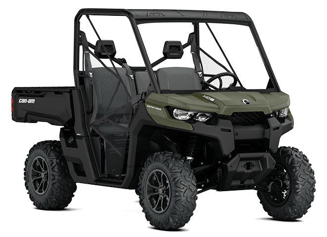 2017 Can-Am Defender DPS HD5 in Barre, Massachusetts