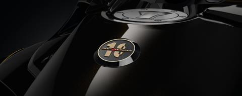 3D 10th Anniversary Badge (on fuel tank)