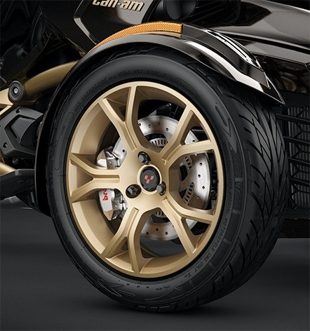 Liquid Gold Satin 10-Spoke Wheels