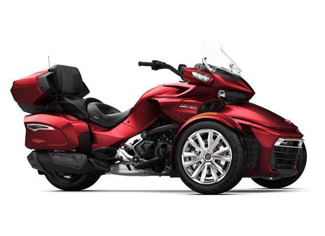 2018 Can-Am Spyder F3 Limited in Dickinson, North Dakota
